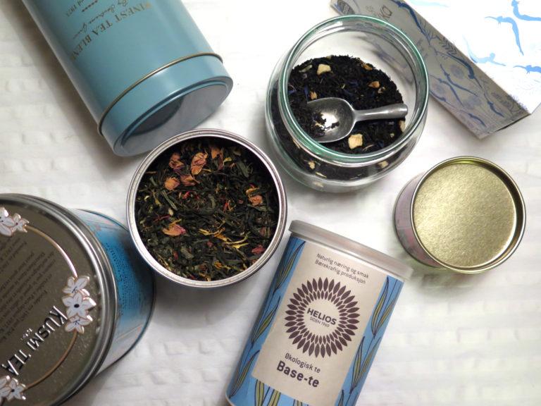 blue teas